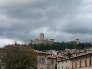 Beautiful places in Italy: La Rocca of Assisi