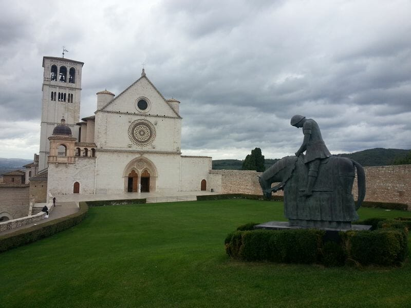 Beautiful places in Italy: St. Francis Basilica