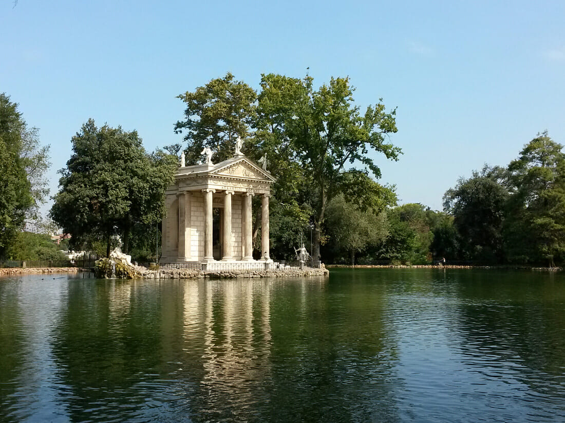 Private tour of Italy - Villa Borghese