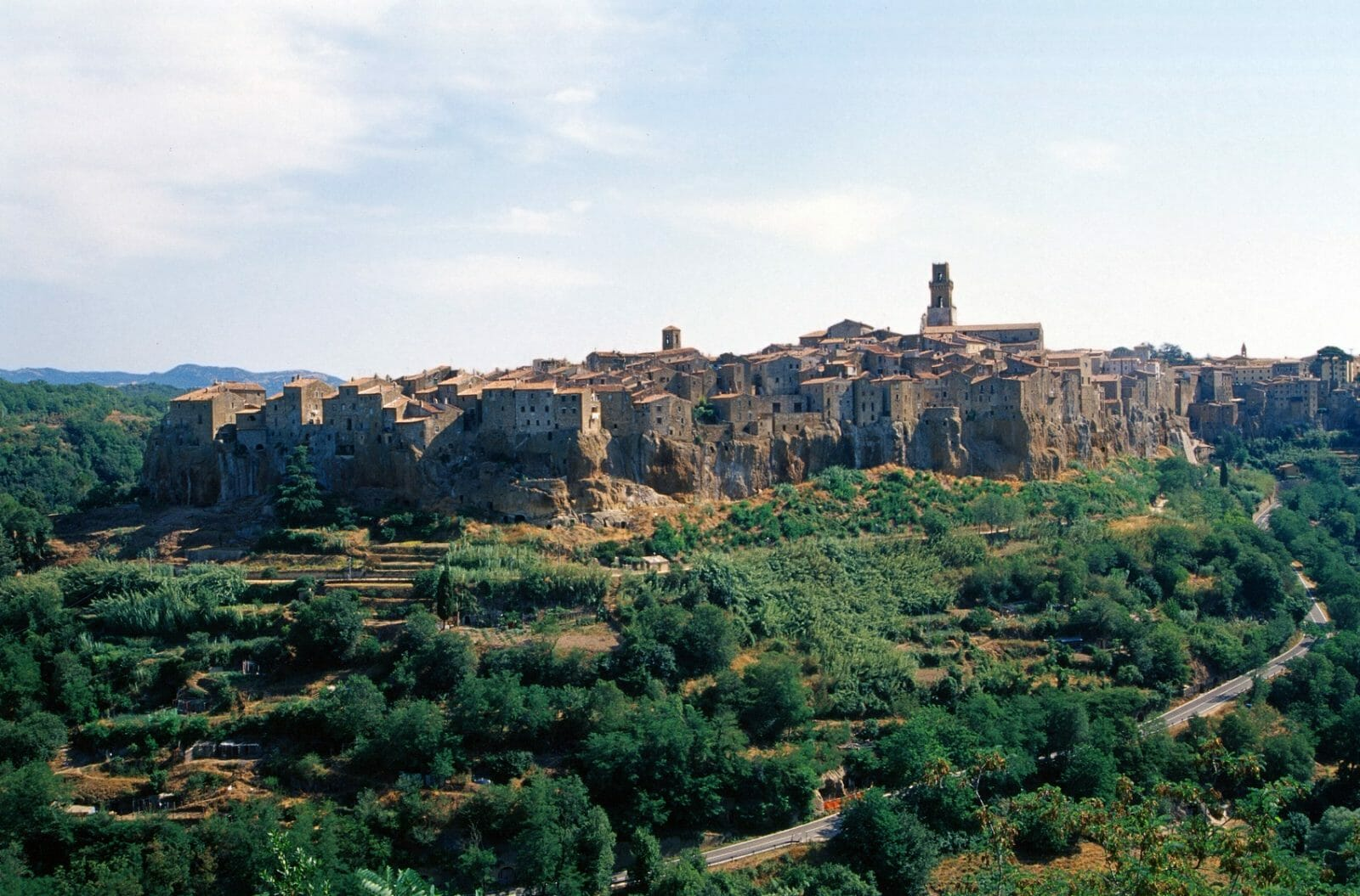 Pitigliano (Grosseto, Tuscany, Italy) - View of the ancient town