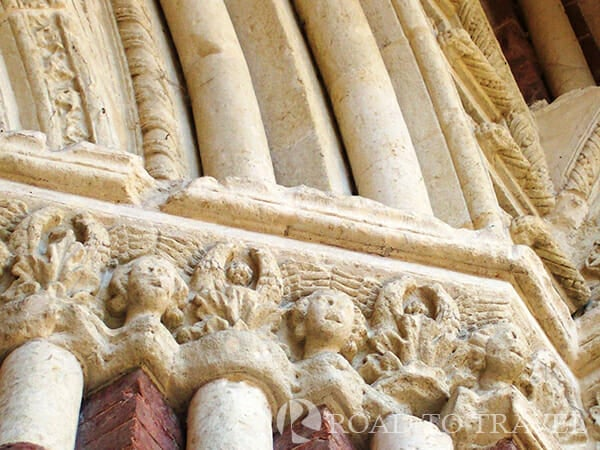 Santa Maria Assunta detail A detail of the Portale dei Pelletta - Asti.