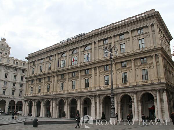 Genoa city centre Piazza dei Ferrai is the heart of Genoa city centre.