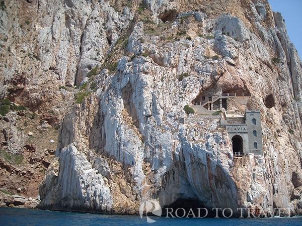 Porto Flavia - Sardinia Porto Flavia was and area od severaln mining rich in coal, sulphur, barium, zinc, lead, silver