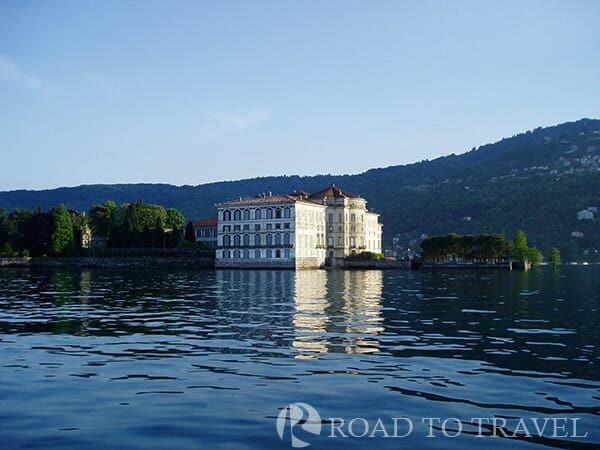 Palazzo Borromeo - Maggiore Lake View of the Palazzo Borromeo.